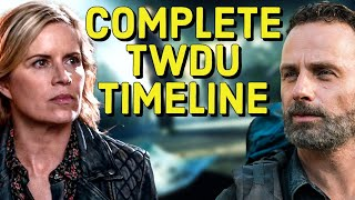 The walking dead universe timeline outbreak to day 59