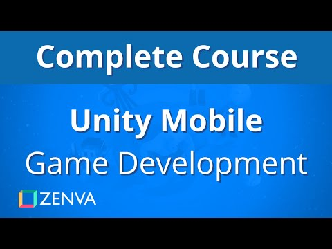 COMPLETE COURSE - Unity MOBILE Game Development