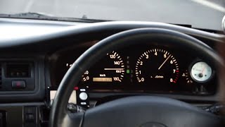Разгон: Toyota Chaser (2JZ-GTE) - roll 20-180 km/h