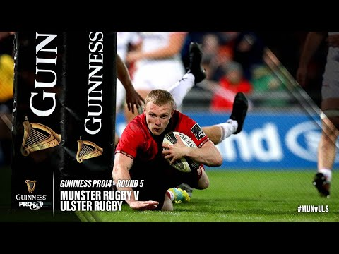 Guinness PRO14 Round 5 Highlights: Munster v Ulster