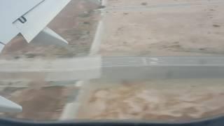 видео: Посадка самолета в городе МАСКАТ  (ОМАН). Landing in Muscat (OMAN)