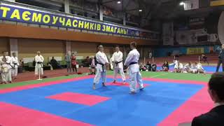 17 й Чемпионат Украины по FSKA Ката ком МИКС бункай