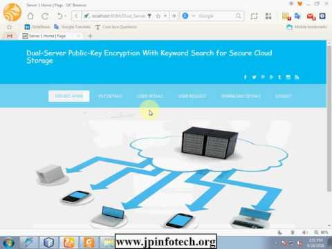 Dual-Server Public-Key Encryption With Keyword Search for Secure Cloud Storage