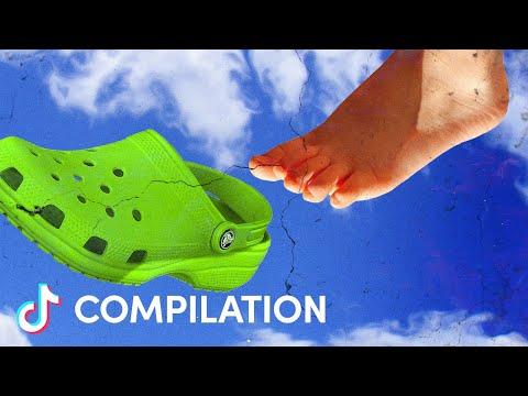 Shaving Cream Crocs | TIKTOK OFFICIAL ACCOUNT