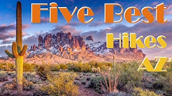 The Five Best Hiking Trails in Arizona 2018 Vlog