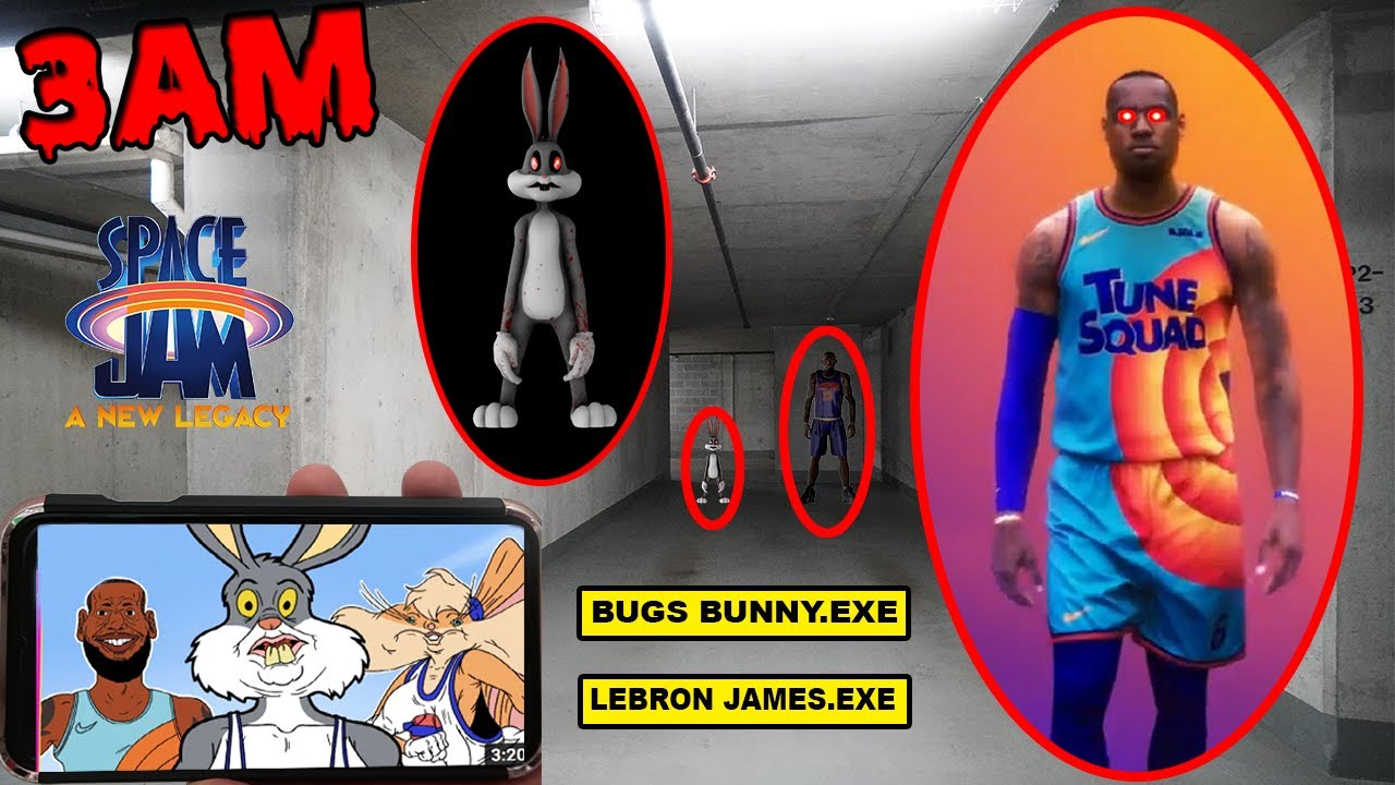 Download DONT WATCH SCARY SPACE JAM 2 VIDEOS AT 3AM OR LEBRON JAMES.EXE & BUGS BUNNY.EXE WILL APPEAR (OMG)