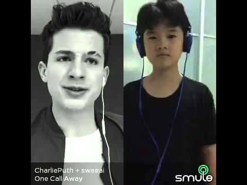 One Call Away - Charlie Puth ft.Wong Weng Hin. (Karaoke Cover) smule