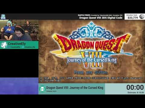 Dragon Quest VIII: Journey Of The Cursed King by CreativeEly (RPG Limit Break 2018 Part 18)