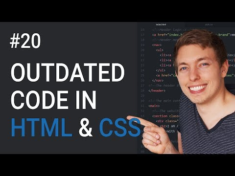 20: Outdated Code In HTML And CSS | Learn HTML And CSS | HTML Tutorial | HTML For Beginners