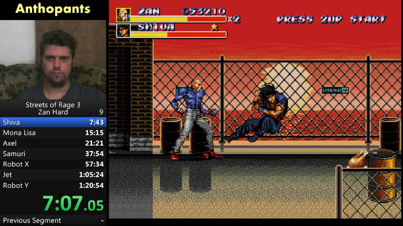 I also have a friend that is a cyborg : pics  |Streets Of Rage 3 Zan