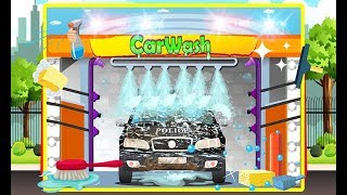 Police car wash and repairing -2d fun club