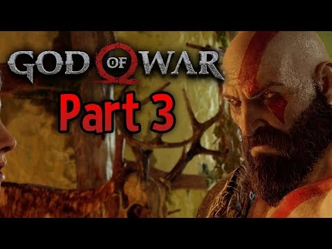 Witch of the Woods | God of War 4 | 2 Girls 1 Let's Play Part 3