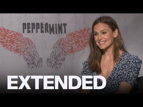 Jennifer Garner Talks Getting Into 'Peppermint' Shape