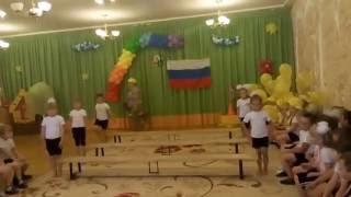 Выступление гимнасток на Летних Олимпийских играх - 2016(В МАДОУ Боровский детский сад