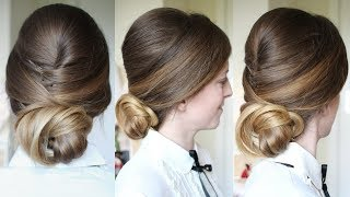 Classic Holiday Updo | New Year's Eve  Hairstyles | Braidsandstyles12