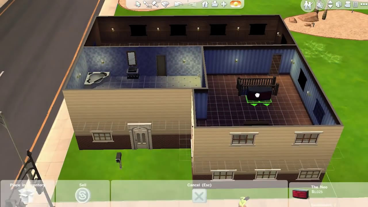 Sims Floor Elevation Cheat : Pc the sims building a full two floor house youtube
