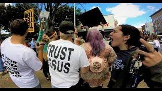 God Hating Homosexuals At Winston-Salem Pride 2018   Street Preaching
