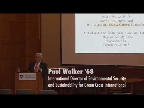 Paul Walker '68 on Abolition of Weapons of Mass Destruction