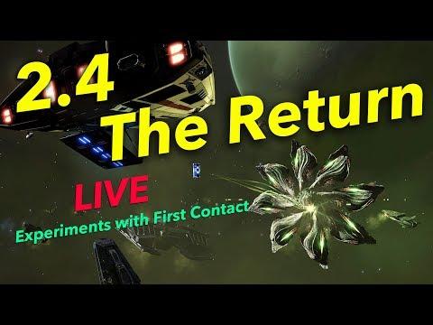"Fighting & Probing Thargoids in 2.4 ""The Return"" | Elite Dangerous"