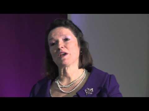 Dr Bettina von Stamm speaking at the Irish Times Innovation Roadshow - University of Limerick