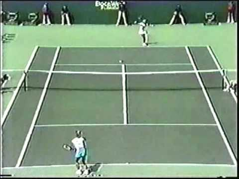 Chris Evert d. Steffi Graf - 1986 Lipton International finals