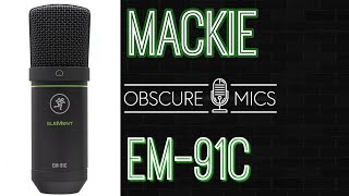Mackie EM-91C Condenser Microphone Test/Review - Opening with Shure SM7B