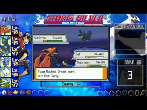 ★ Pokemon Storm Silver Nuzlocke Run ★ Part 23-Safari Zone Been Attacked By Team Rocket! Part-1