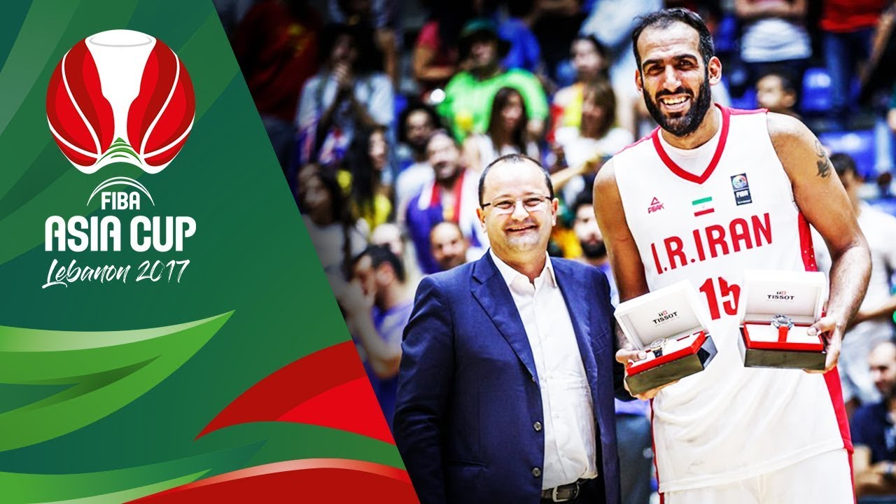 Hamed Haddadi's MVP Mixtape - FIBA Asia Cup 2017