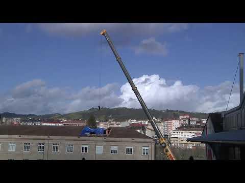 Se inicia la reparación del tejado de Salesianos