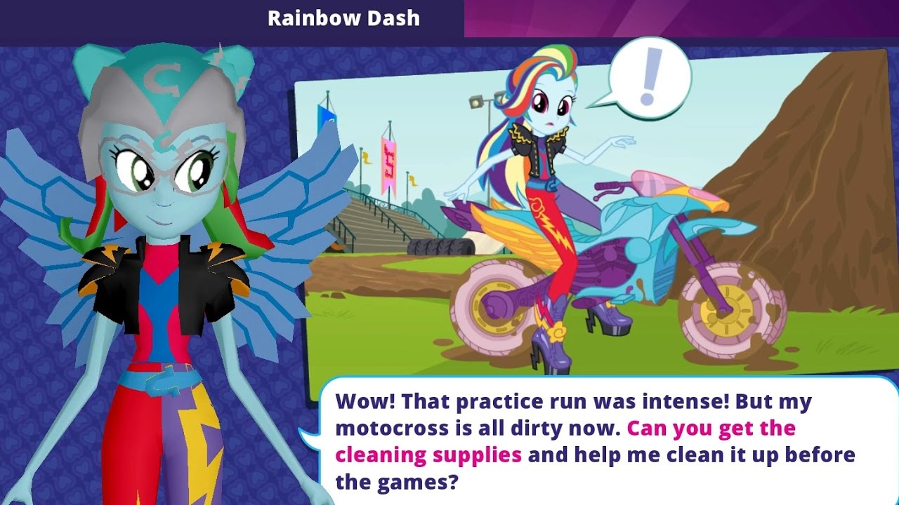 - My Little Pony Equestria Girls App - Full Episode Chapter 4