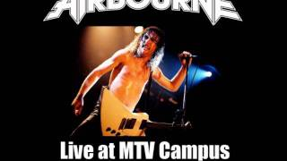 Airbourne - Cheap Wine & Cheaper Women (Live MTV Campus 2010) SOUNDBOARD!