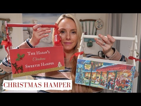 CHRISTMAS GIFT HAMPER | DIY