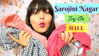 SAROJINI NAGAR TRY-ON HAUL👚👗🛍️