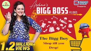 Archana's Bigg Boss Vlog Series | The Bigg Buy | Shop till you Drop | #WowLife #BiggBoss4