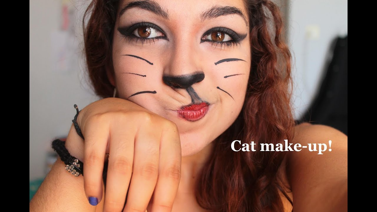 Tutoriel maquillage : Le chat! - YouTube