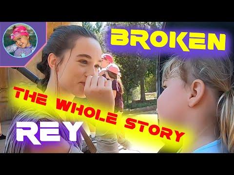 Broken REY FULL STORY Behind The Scenes Galaxy's Edge