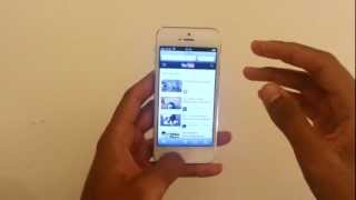 أخذ لقطة مع اي فون 5 - جعل لقطة على apple i phone 5