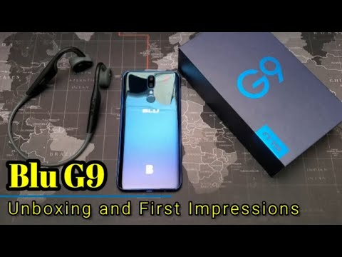 Blu G9 - Unboxing and Detailed First Impressions ($130 Today Only)