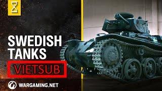 Nghệ thuật chế tạo xe tăng - Xe tăng Thụy Điển