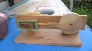 Wood Air Engine