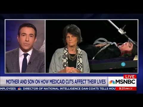 The MEDICAID REALITY - Mike Phillips and his mother, Karen Clay