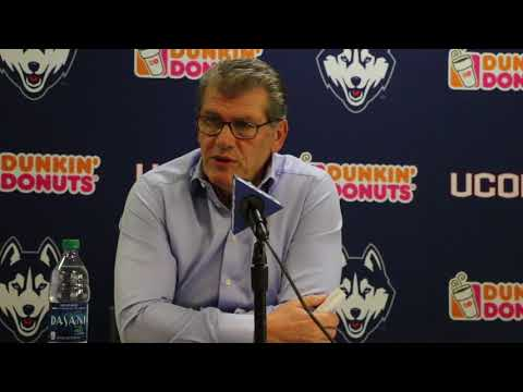 UConn Head Coach Geno Auriemma Postgame Press Conference (Tulsa) - 1/18/18