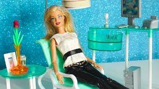 Анджела покупает офис для отдыха / Обзор и распаковка / Мебель для кукол