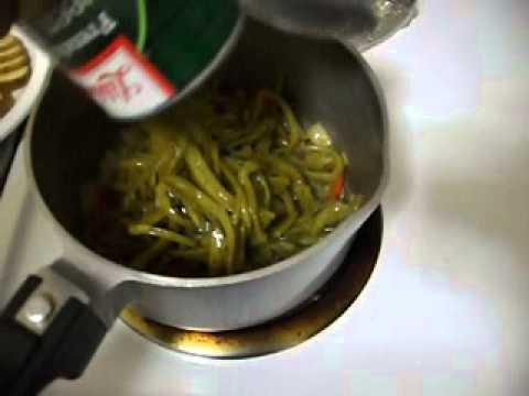 COOKING - French Style Green Beans And Potatoes - John V. Karavitis