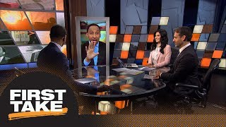 Stephen A.'s initial reaction to Klay Thompson's injury shocks Max | First Take | ESPN