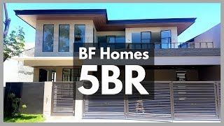 Brand NEW HOUSE and Lot for Sale in BF HOMES, Paranaque City near Alabang: Property ID: P8