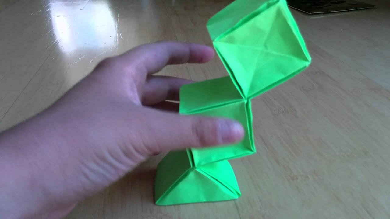 how to make an origami cuboid