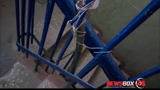 Жители одного из домов  в Фокино боятся, что их убьет током по вине горе-электриков