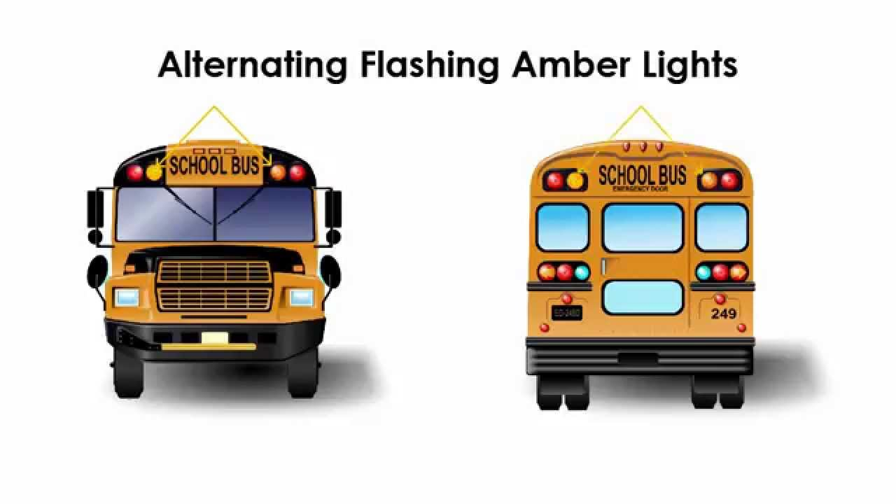 School Bus Stopping Procedures From Another Vehicle U0026 39 S