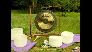 Deep Meditation Music (Nature sounds,Gong, Tibetan & Crystal Bowls)South Chile - Alupran